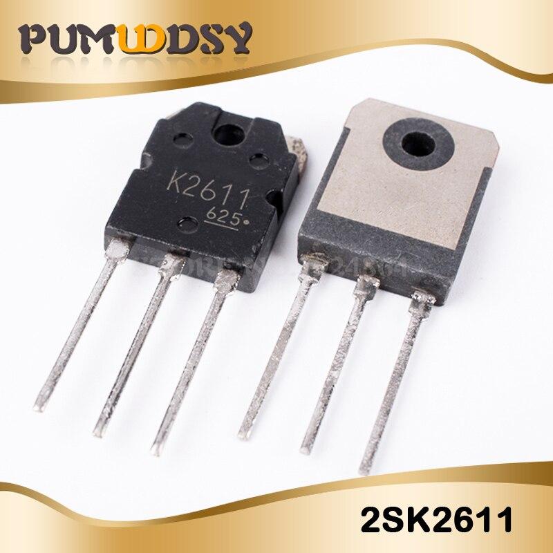 5 pcs/lot soudure FET 2SK2611 K2611 9A 900V TO-3P nouveau IC dorigine