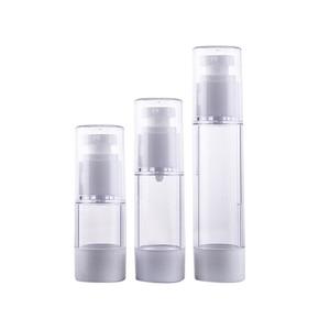 Outdoor Travel Mini Plastic MakeUp Skin Care Lotion Case Container Bottle Transparent Small Empty Moisturizing Cleanser  bottle