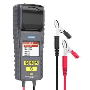 AUTOOL car battery tester 12V/24V high precision battery life temperature detection instrument auto repair
