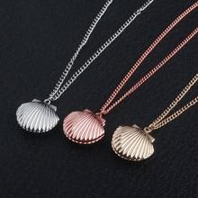 Le dernier collier de coquille trois couleurs de colliers délicats en alliage de Zinc pour homme voiture femmes sac accessoires de mode