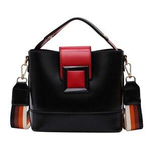 Elegant Crossbody Bag For Women PU Leather Crisp Buckle Female Shoulder Bag Travel Outdoor Girl's Shopping Handbags