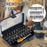 screwdriver bits set professional hex shank magnetic holder electric impact driver bits set with carry case electric power tool
