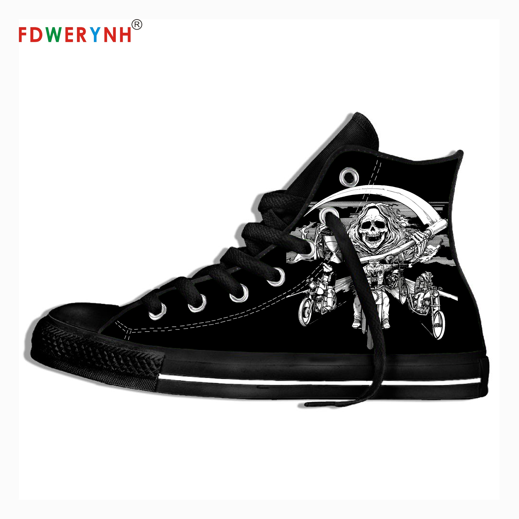 Men Walking Shoes Eyehategod Music Fans Heavy Metal Band Logo Personalized Shoes Light Breathable Lace Upcanvas Casual Shoes