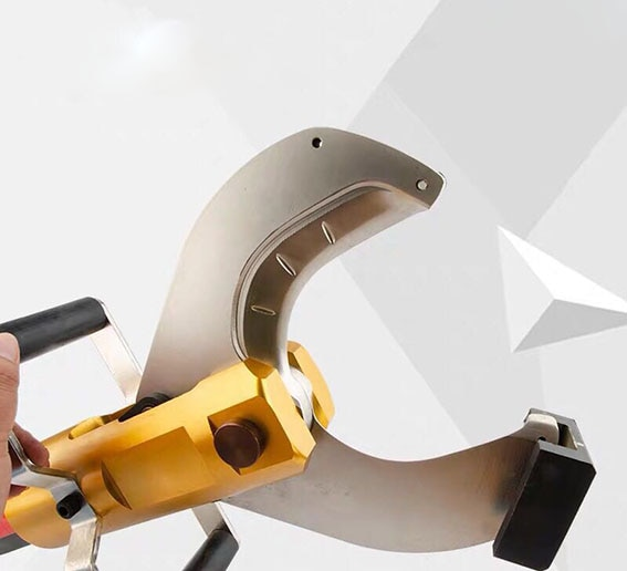 Open type Cable scissors Electric hydraulic Copper aluminum cable cutter Split type CPC-65/105/120 Fast wire breaking pliers enlarge