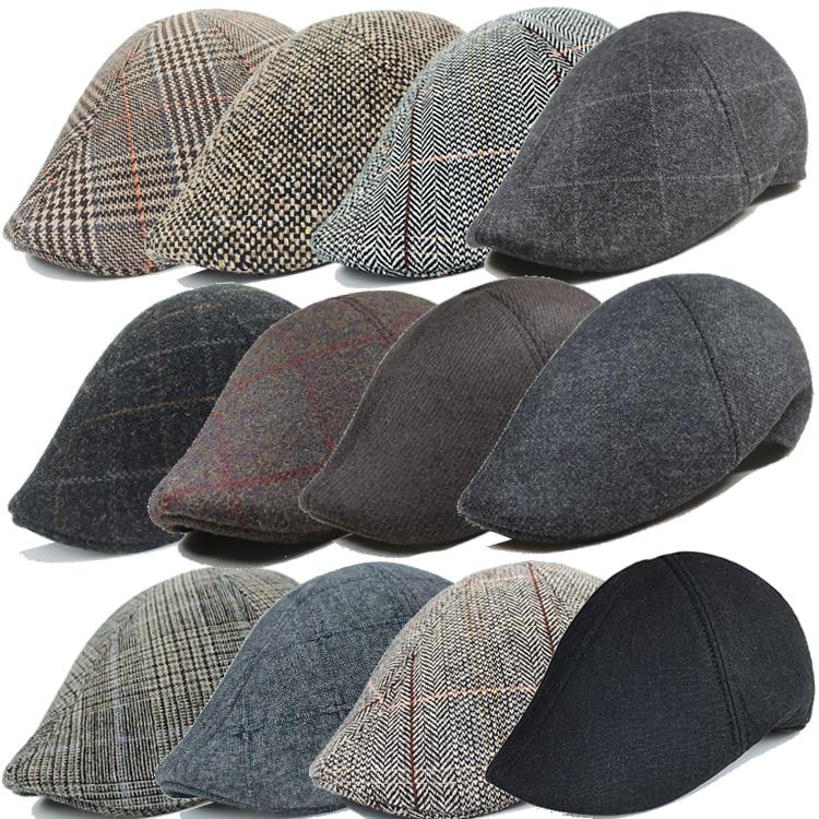 Lots Style Men Berets 2021 Spring Autumn Casual Street Newsboy Beret Hat Retro England Hat Wild Octa