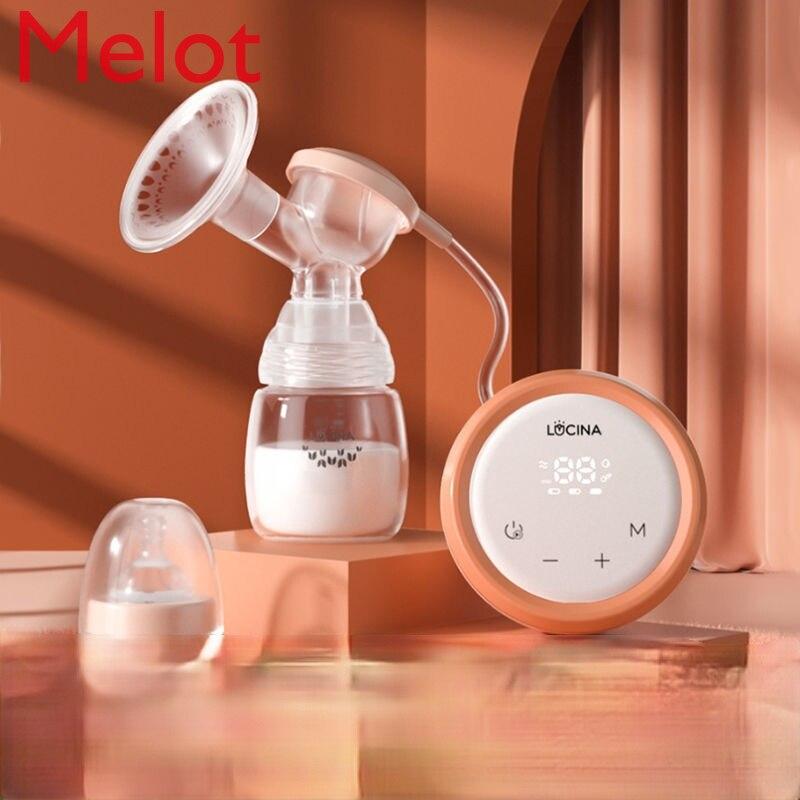 الراقية الفاخرة مضخة الثدي الإلكترونية حليب الثدي التلقائي الحليب الحليب الماكر المنزلية
