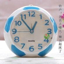 Cute Snooze Owl Alarm Clock Digital Metal Travel Kids Simple Owl Alarm Clock Digital Little Wekker Digitaal Sleep Trainer JJ60NZ