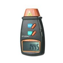 Tachymètre Photo numérique portable, Laser sans Contact, plage de tachymètre 2.5RPM-99,999RPM, écran LCD, compteur de vitesse du moteur