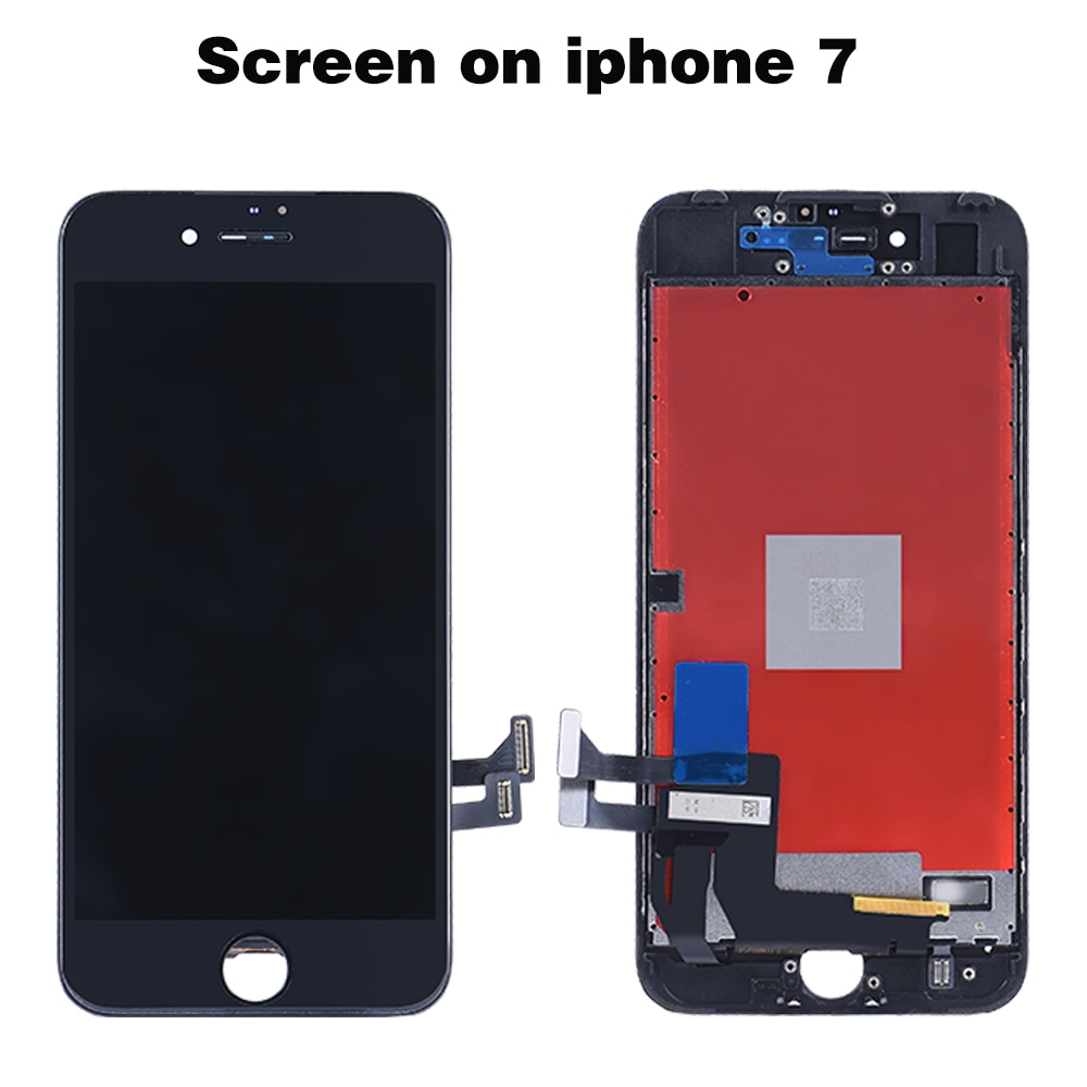 LCD display on the iPhone6 6s 7 8 6SPlus 3D Touch Screen Replacement For iPhone 7 plus 5 5S SE Grade AAA+++No Dead Pixel+tools enlarge