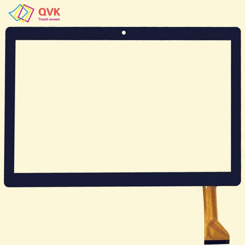Negro Blanco 10,1 pulgadas para SUNSTECH TAB2323GMQC pantalla táctil capacitiva Reparación de piezas de repuesto