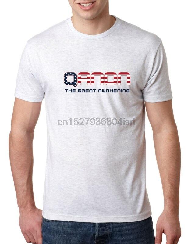 QANON The Great Awakening Q Anon We Are Q мужская футболка