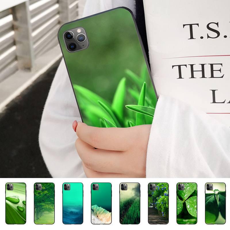 Flores de la naturaleza funda del teléfono carcasa para IphoneX XS 11 11Pro 5 5s 6s SE plus 7 8 SE 2020