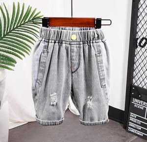 New Fashion 2020 Kids Short Pants Baby Boy Short Denim Toddler Girls Sport hole Shorts Children Trouser Summer Clothes 2-9years