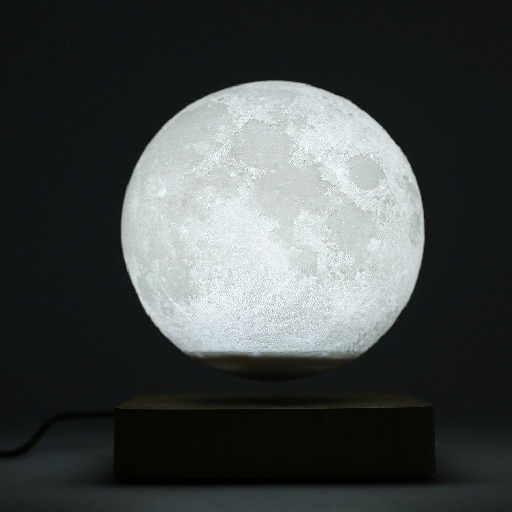 3d led luzes da noite levitao magntica estrela lua lmpada mars saturno toque nightlight decorao para casa para o quarto criativ enlarge