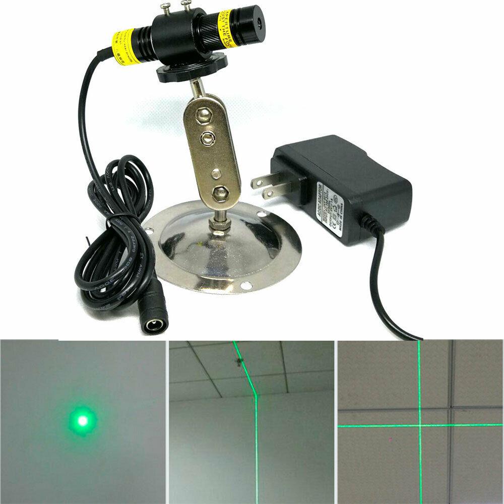16% 2A68 мм 515 нм 10 мВт зеленый генератор лазер модуль точка линия крест для выравнивания DC12V