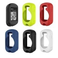 soft silicone protective case cover for garmin edeg 130 bike cycling computer