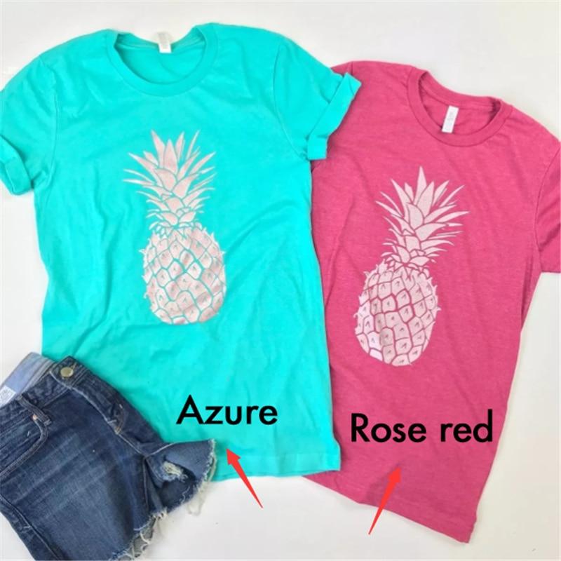 New Pineapple Shirt T Shirt Women Harajuku Kawaii Short Sleeve T-shirt Vogue 90s Korean Style Tshirt Fashion Top Tees Female
