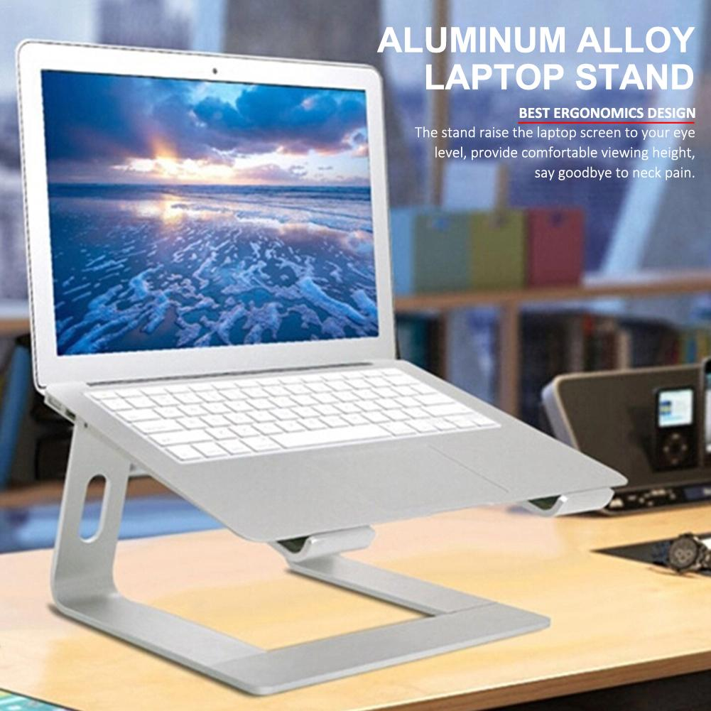 Soporte de ordenador portátil desmontable Universal portátil robusto de aleación de aluminio portátil soporte de escritorio para Acer para HP Dell Xps para Lenovo