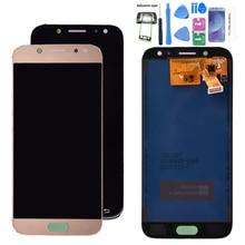 Para Samsung Galaxy J5 pro 2017 J530 J530F pantalla LCD con montaje de digitalizador con pantalla táctil ajuste brillo 2.5D arc edge