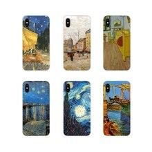 Étuis de téléphones portables Pour LG G3 G4 Mini G5 G6 G7 Q6 Q7 Q8 Q9 V10 V20 V30 X Power 2 3 K10 K4 K8 2017 Vincent Van Gogh Sacs