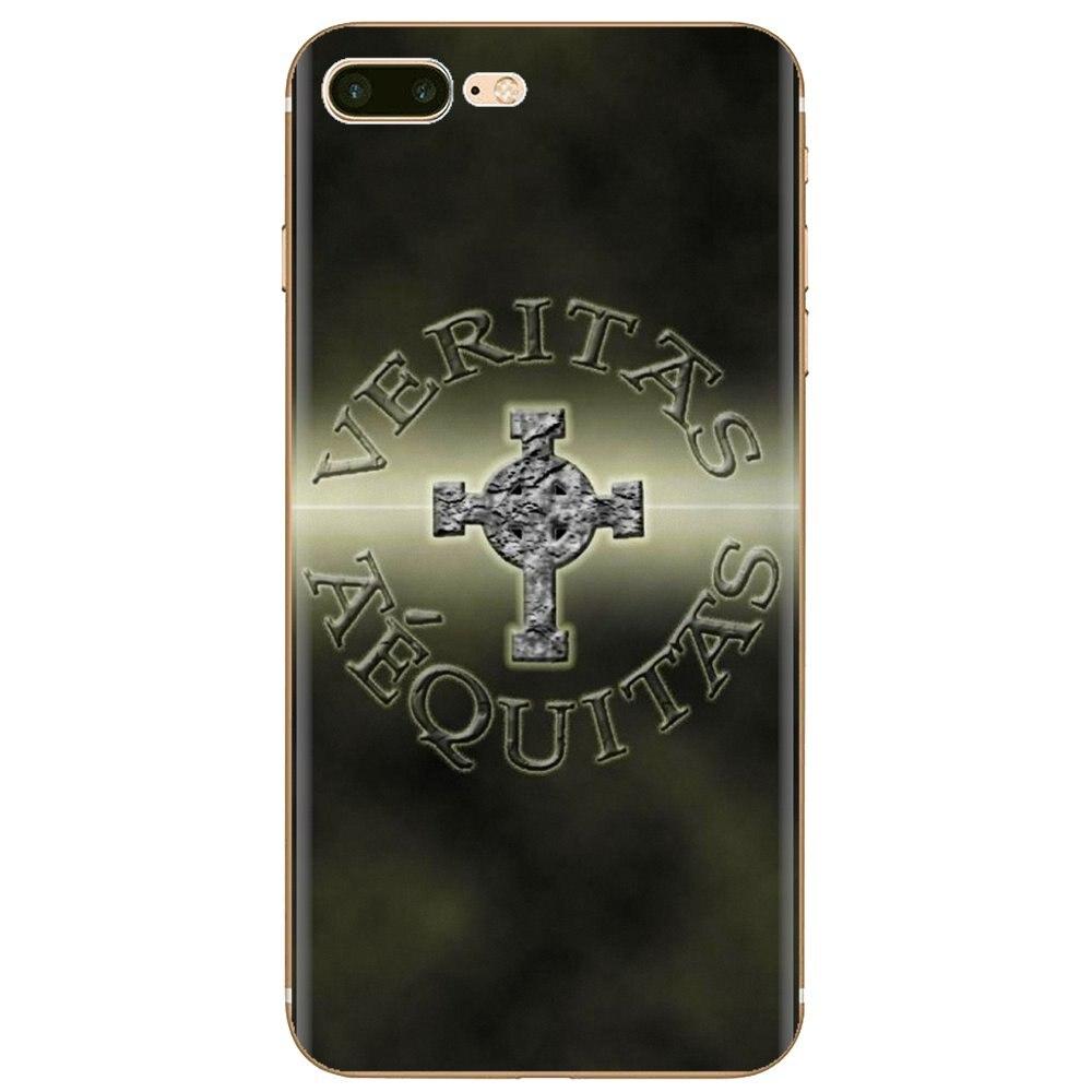 Силиконовый чехол для телефона iPhone 11 Pro 4 4S 5 5S SE 5C 6 6S 7 8 X XR XS Plus Max для iPod Touch The Boondock Saints Veritas