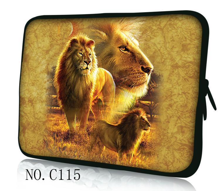 Luva do Portátil Bolsa para Macbook Capa para Dell Leão Ratina – 13.3 15.6 Polegada 11 12 13 14 15 Notebook Case hp ar Pro 11.6