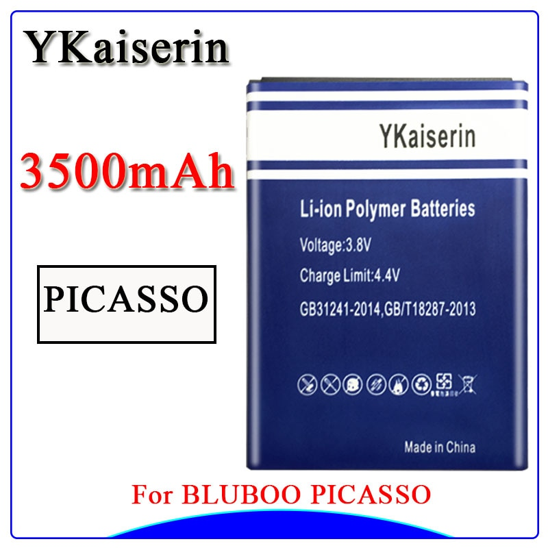 Nueva batería potente para Backup Bluboo batería Picasso para 3500mAh Bluboo Picasso reemplazo de batería de teléfono móvil inteligente batería