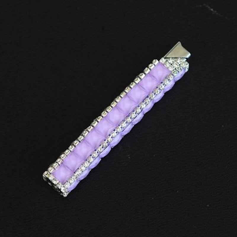 Butane Gas Lighter Portable Gorgeous Diamond Lipstick Thin Lighter Small Gift for Girl enlarge