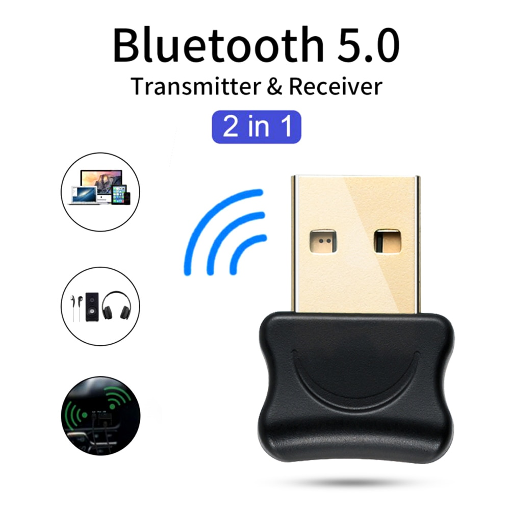 AliExpress - 5.0 Bluetooth Adapter USB Bluetooth Transmitter for Pc Computer Receptor Laptop Earphone Audio Printer Data Dongle Receiver