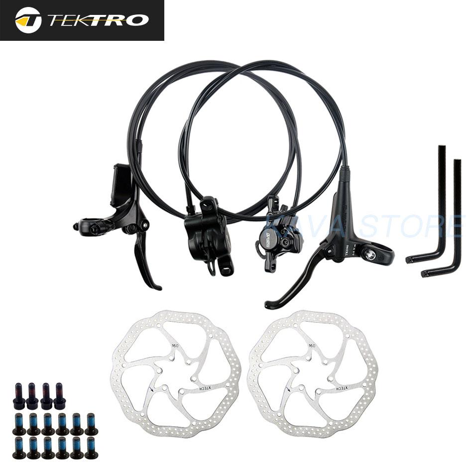 TEKTRO HD-M275 vtt vélo frein à disque hydraulique 800mm /1500mm 160/180/203mm Rotor VTT freins avant/arrière en alliage daluminium