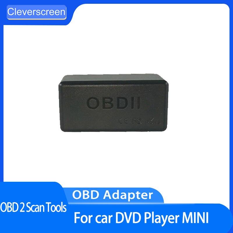 CleverScreen считыватель кода автомобиля OBD 2 диагностические инструменты OBD2 ECU чип приложения тюнинг бокс драйвер Plug комплект автомобильные аксе...