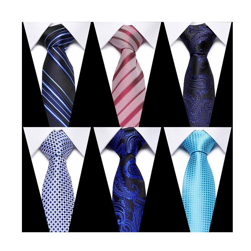 Роскошные мужские галстуки с принтом для мужчин, тонкие галстуки из полиэстера, жаккардовые галстуки для худой шеи, свадебные галстуки-бабо...
