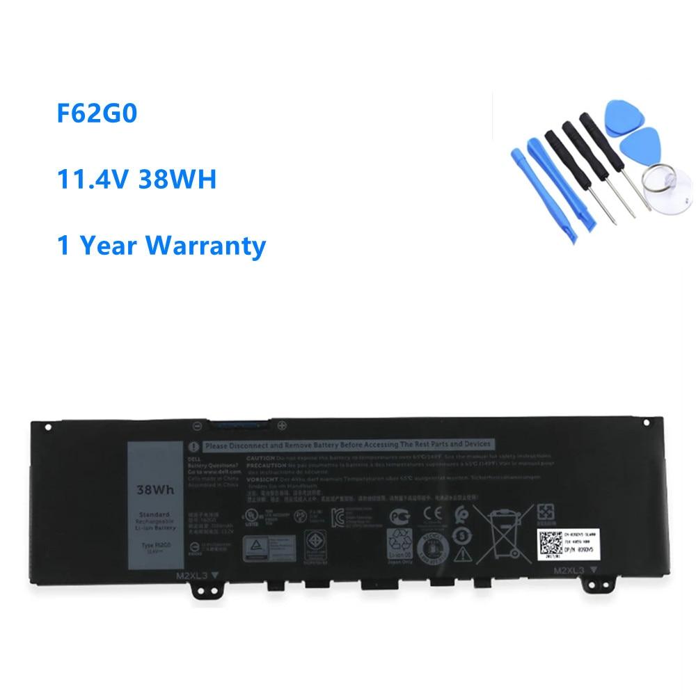 F62G0 Laptop Batterie Für DELL Inspiron 13 5370 7370 7373 7380 7386 Vostro 5370 RPJC3 39DY 5 11,4 V 38WH