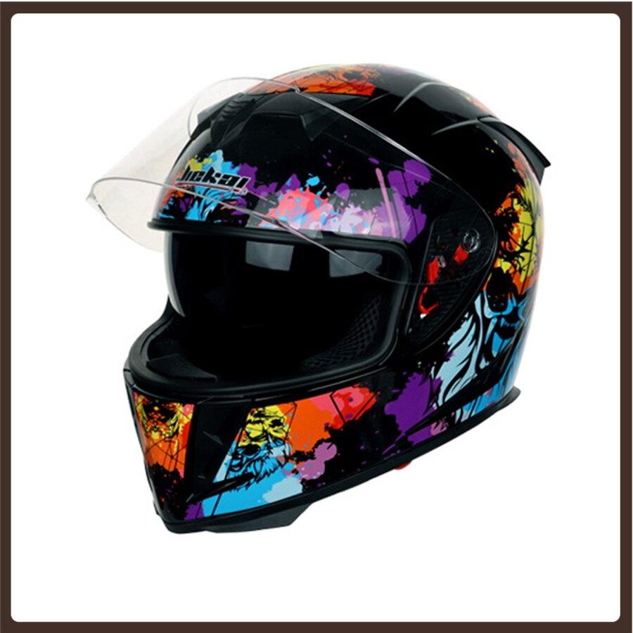 Accesorios para Casco de motociclismo, diseño rápido para carreras, monopatín, bicicleta, Da...