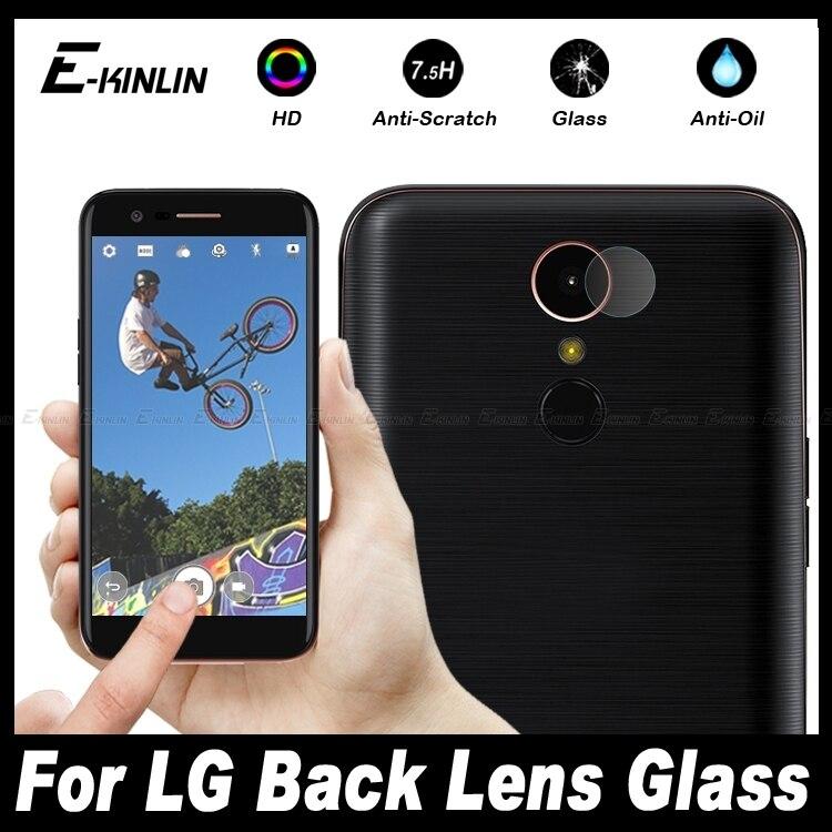 10pcs Clear Back Camera Lens Protective For LG X5 K10 K8 K4 2018 2017 2016 Power Pro V10 Tempered Glass Screen Protector Film