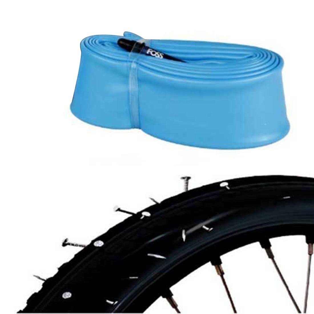 Piezas de tubo Interior FOSS bicicleta carretera Anti-punción caucho no vulcanizado bicicleta tubo Interior bicicleta neumático Interior 26/27.5/29 pulgadas MTB