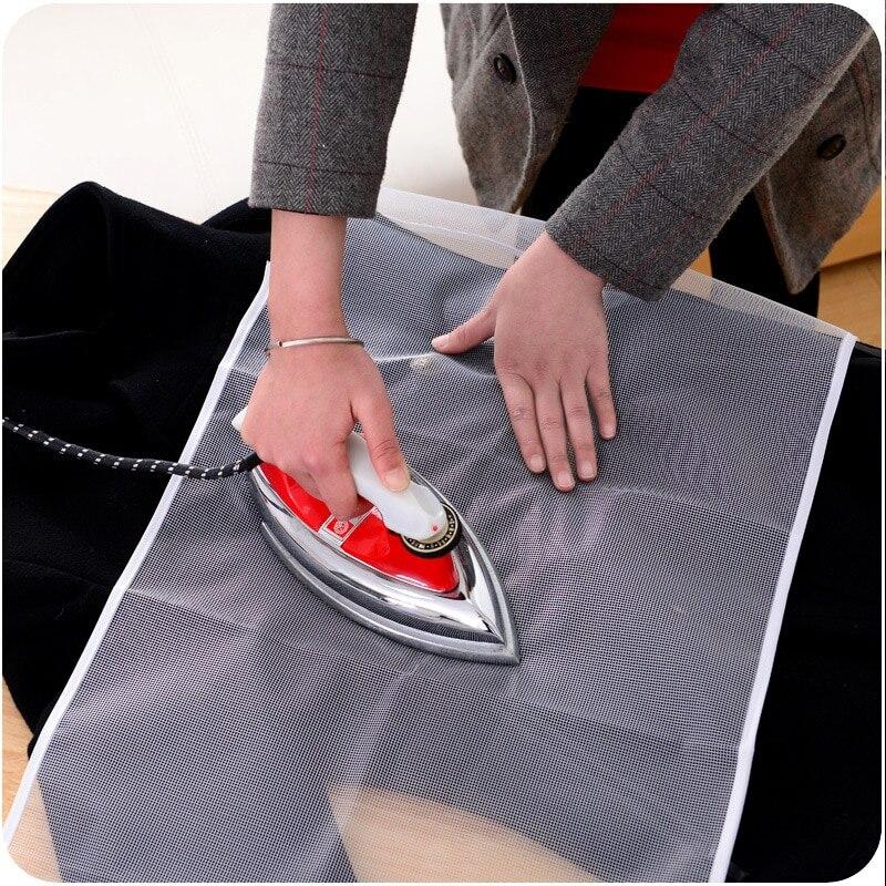 Protector de tela para tabla de planchar, malla de prensa protectora, aislamiento, cubierta de colores aleatorios contra almohadilla de prensado
