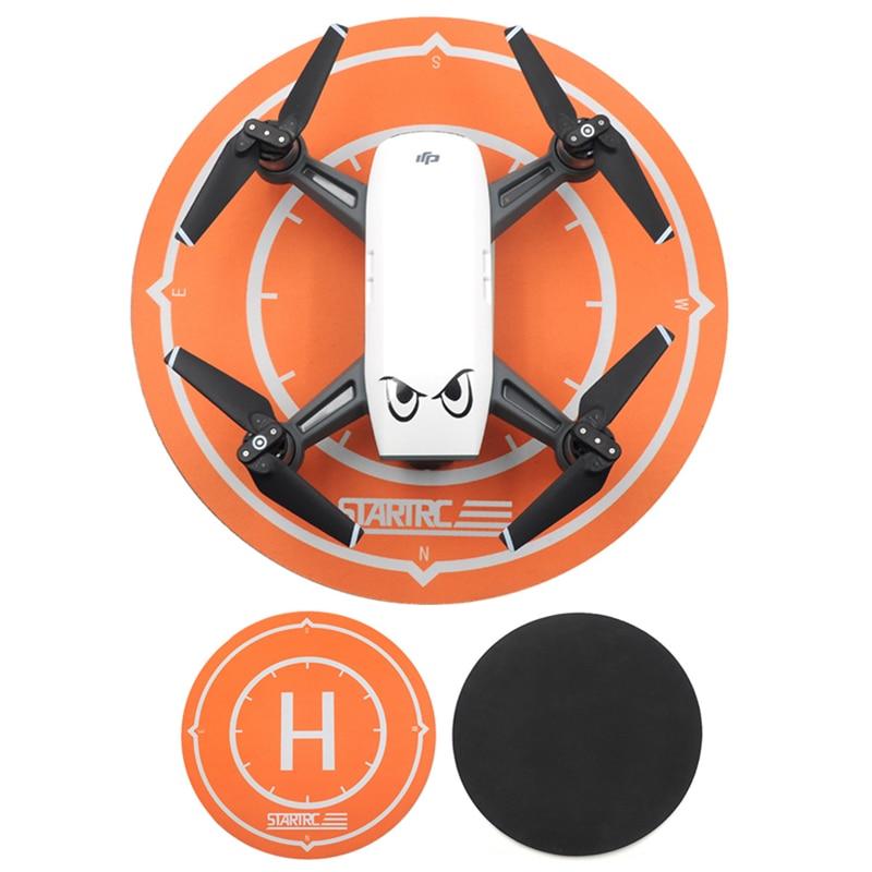 for DJI Spark Drone Landing Pad Waterproof Desktop Parking Apron 25cm Foldable Tarmac Damper Mavic Mini Accessories Tello
