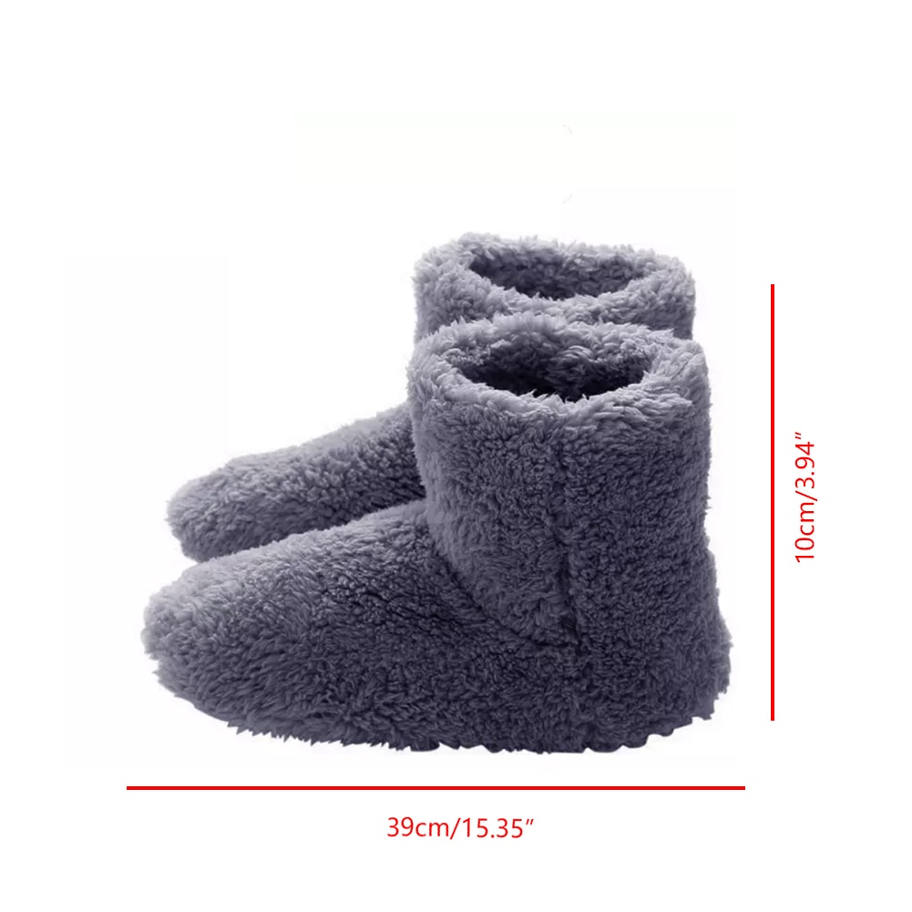 USB Heated Warm Feet Thick Flip Flop Heat Pads Warm Foot Care Treasure Warmer Shoes Winter Warming Pad Heating Insoles 5v Heater enlarge