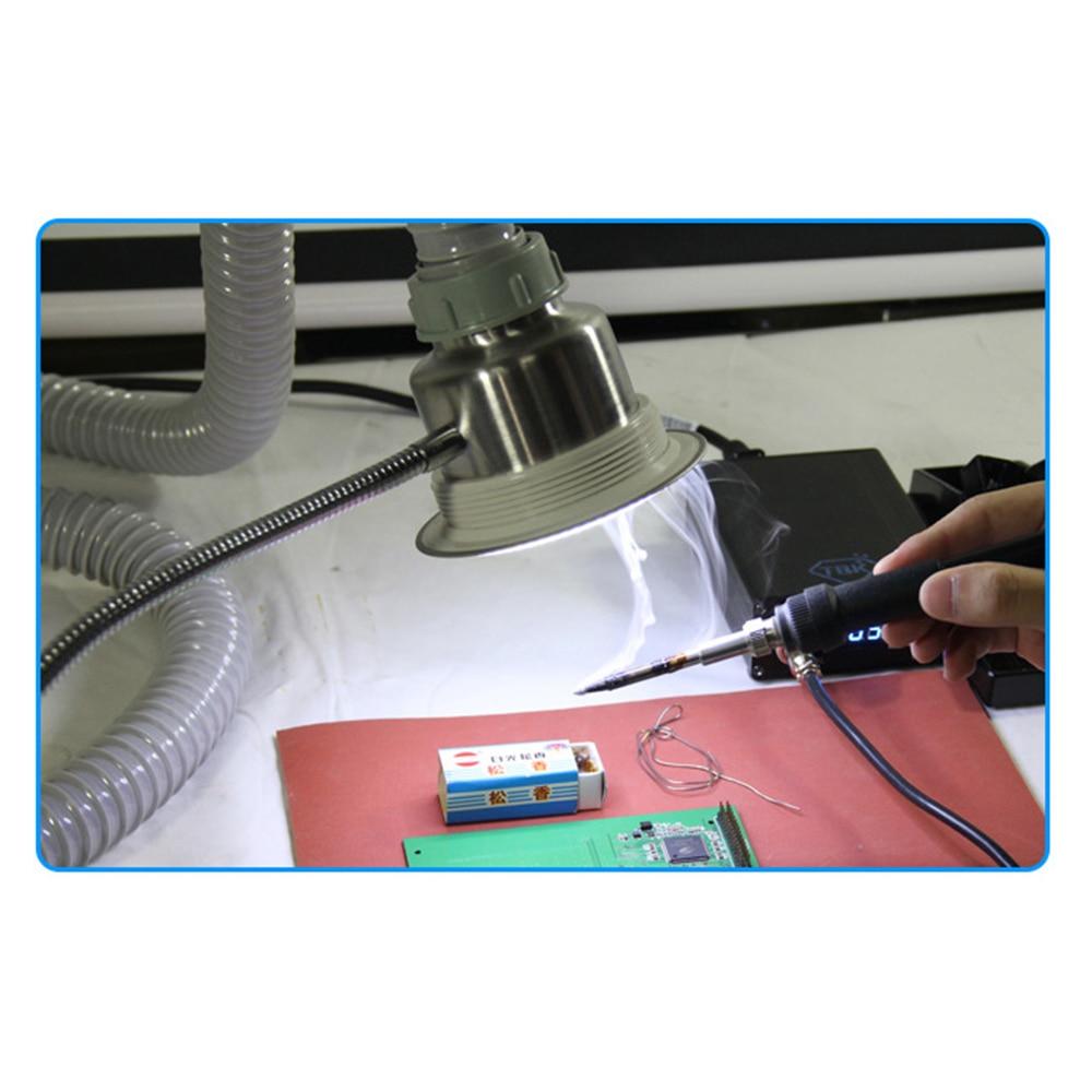 Anti-static Sucking Smoke Instrument Repair Smoking Lighting Dual Purpose Soldering Iron Welding Smoke Evacuator