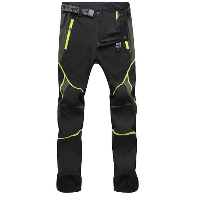 Summer Hiking Pants for Men Quick Drying Outdoor Workwear Men Clothing Color Stitching Climbing Pantalon Windproof Men's Pants