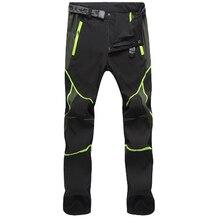 Pantalones de senderismo para hombre, ropa de trabajo de secado rápido para exteriores, costura de Color, pantalones de escalada a prueba de viento, Verano