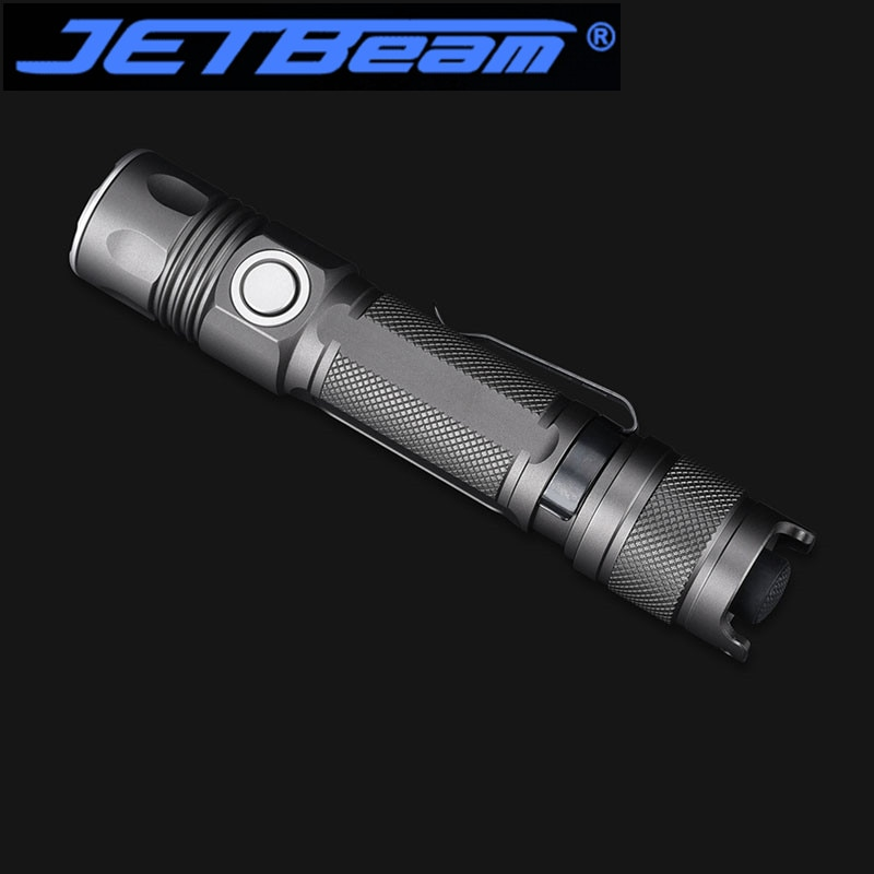 JETBEAM JET-2MS 2000 Lumens Ultra High-performance Tactical Flashlight for self defense Law Enforcement Military Tactical enlarge