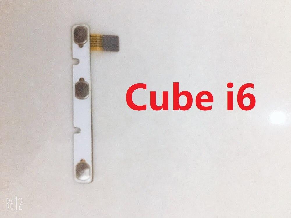 Original cubo i6 S PC de la tableta interruptor de volumen y encender y apagar +-botón de abajo pieza de recambio de Cable Flex