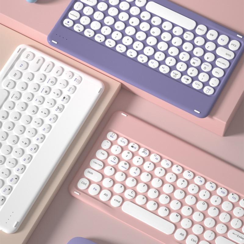 المحمولة بلوتوث لوحة المفاتيح الهاتف اللوحي لوحة المفاتيح اللاسلكية لباد 2021 برو 11 الهواء 4 3 لوحات المفاتيح لهواوي Matepad سامسونج