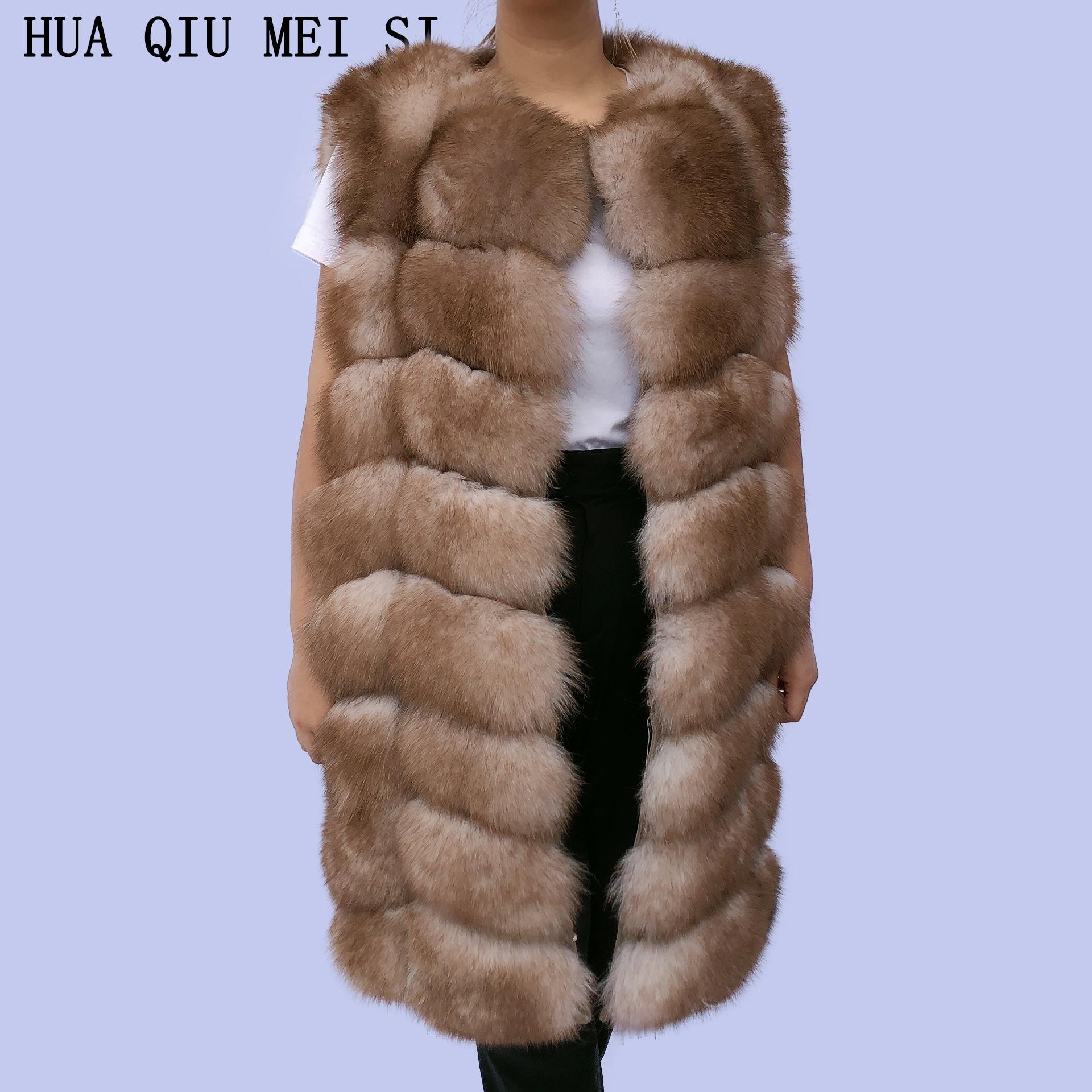 Ladies autumn and winter real fur warm vest fox fur coat real fox fur fox fur vest natural fur real fur vest fur coatssleeveless фото