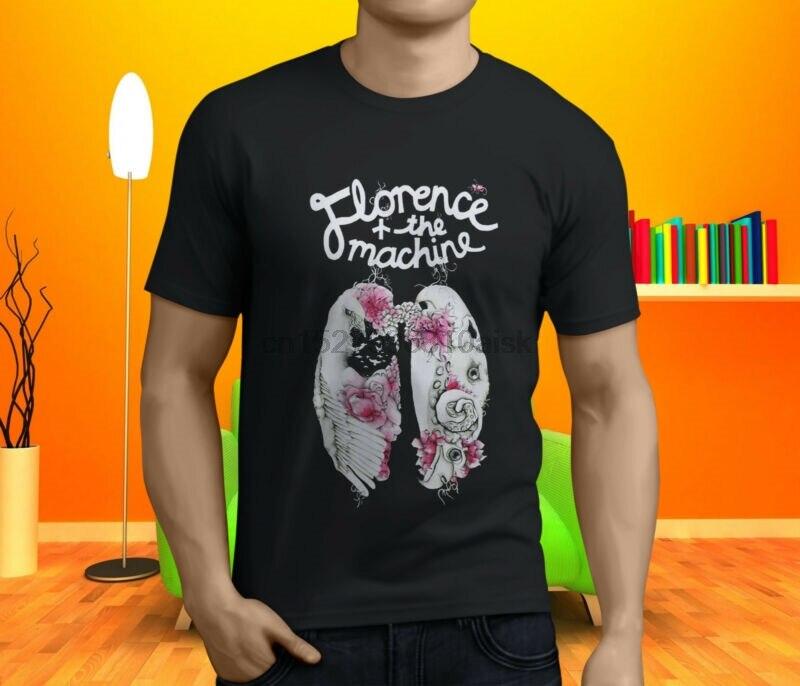 Nueva Popular camiseta negra para hombre de FLORENCE y THE MACHINE S-3XL