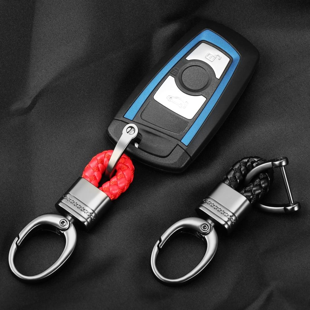 Universal Car Keychain Zinc Alloy Key RIng For BMW Audi Mercedes Honda Volkswagen Car Keys Automobile Key Chain Jdm Accessories
