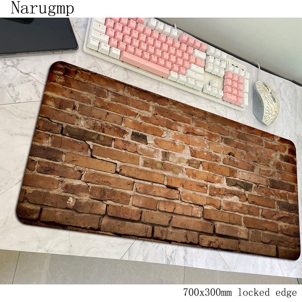 Piso de madera padmouse grande de 700x300mm alfombrilla de ratón impresión HD juego empresa caucho teclado ratón alfombrilla de ratón para jugador