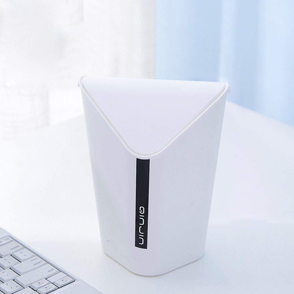 Minicubo de basura, cubo de basura de cocina para oficina, cubo de basura pequeño, cubo de basura de escritorio, cubo de basura pequeño, accesorio para el hogar